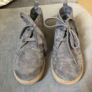 Boys GAP gray boots. Size 12